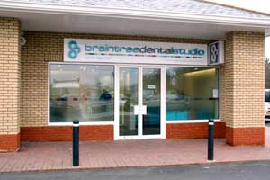 Front of Braintree Dental Studio